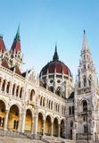 Hungarian Parliament building. The Parliament building in Budapest Hungary Royalty Free Stock Photos