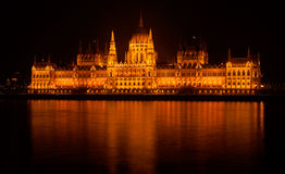 Hungarian Parliament Building. Budapest, Hungary Stock Photography