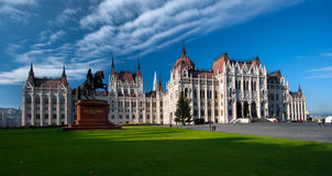 Hungarian Parliament Building. The Hungarian parliament building. Budapest, Hungary Royalty Free Stock Photos