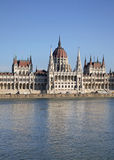 Hungarian Parliament Building in Budapest. Hungary Stock Photos