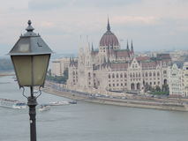 Hungarian Parliament Building in Budapest. Hungary Royalty Free Stock Image