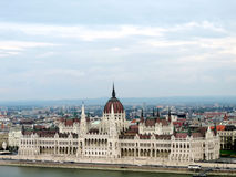 Hungarian Parliament Building in Budapest. Hungary Stock Photo