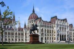 Hungarian Parliament Building - Budapest - Hungary Stock Photos