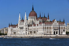 Hungarian Parliament Building - Budapest - Hungary Stock Images