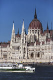 Hungarian Parliament Building - Budapest - Hungary Royalty Free Stock Photos