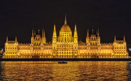 Hungarian Parliament Building - Budapest Royalty Free Stock Photo