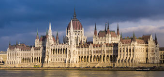 Hungarian Parliament Building, Budapest Stock Photography