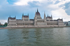 Hungarian Parliament Building in Budapest. Royalty Free Stock Images