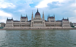 Hungarian Parliament Building in Budapest. Stock Photo