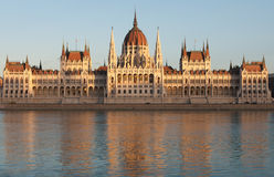Hungarian Parliament Building Royalty Free Stock Images