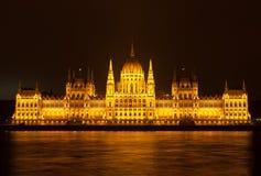 Hungarian Parliament Building Stock Image