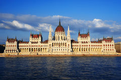 Free Hungarian Parliament Building In Budapest Royalty Free Stock Image - 55685096