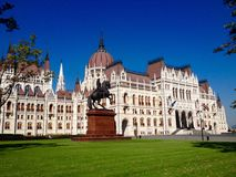 Hungarian Parliament Building Stock Images