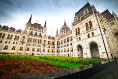Hungarian Parliament building Royalty Free Stock Photo