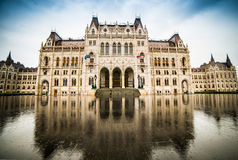 Hungarian Parliament building Stock Photography