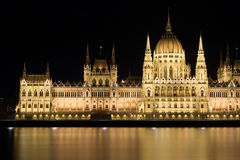 The Hungarian Parliament Building Royalty Free Stock Photography