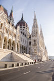 The Hungarian parliament building Royalty Free Stock Image