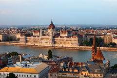 City of Budapest Cityscape Royalty Free Stock Images