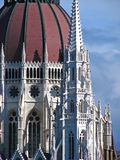 Hungarian Parliament cupola detail Royalty Free Stock Photos