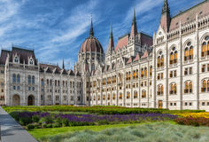 The Hungarian Parliament Royalty Free Stock Images