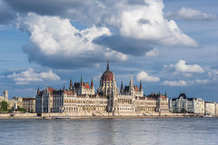 The Hungarian Parliament Stock Photography
