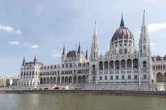 Hungarian Parliament Royalty Free Stock Photography