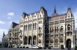 Hungarian Parliament House Stock Images