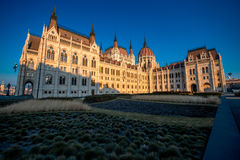 Hungarian parliament Royalty Free Stock Image