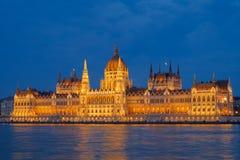 Hungarian Parliament Stock Image