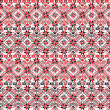 Hungarian pattern. Seamless pattern design inspired by Hungarian traditional embroidery Royalty Free Stock Images