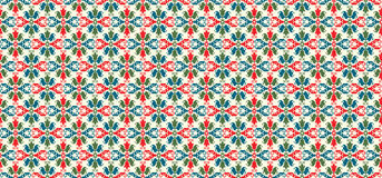 Hungarian pattern. Seamless pattern design inspired by Hungarian traditional embroidery Stock Photos
