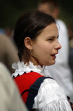 Hungarian pilgrims celebrating the Pentecost Royalty Free Stock Photography