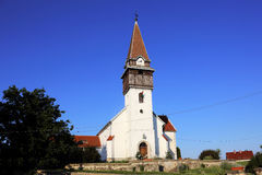 Hungarian Reformed Church. Near the border of Romania and Hungary Royalty Free Stock Image