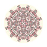 Hungarian round ornament Royalty Free Stock Image