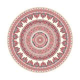 Hungarian round ornament Royalty Free Stock Images