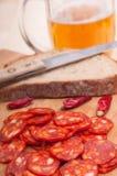 Hungarian Sausage Stock Photos