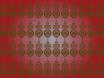 Hungarian seamless pattern Royalty Free Stock Photography