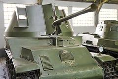 Hungarian self-propelled anti-aircraft gun 40M Nimrod Royalty Free Stock Photos