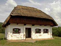 Hungarian skanzen Royalty Free Stock Photo