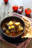 Hungarian soup goulash Stock Photography