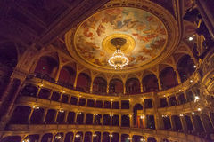 Hungarian State Opera Budapest Royalty Free Stock Photography