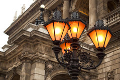 Hungarian State Opera House in Budapest Royalty Free Stock Photography