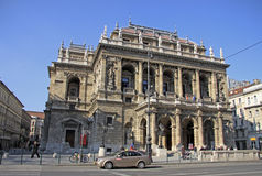 Hungarian State Opera House. Budapest, Hungary Royalty Free Stock Photography