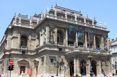 The Hungarian State Opera House in Budapest Stock Photo