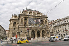 Hungarian State Opera House in Budapest. Royalty Free Stock Image