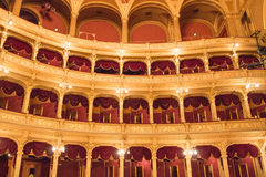 The Hungarian State Opera House. Is a neo-Renaissance opera house located in central Budapest Stock Photography
