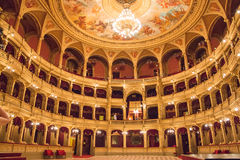 The Hungarian State Opera House. Is a neo-Renaissance opera house located in central Budapest Royalty Free Stock Photography