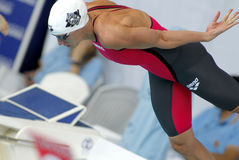 Hungarian swimmer Katinka Hosszu Stock Image