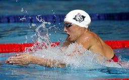 Hungarian swimmer Katinka Hosszu Royalty Free Stock Images