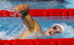Hungarian swimmer Katinka Hosszu Royalty Free Stock Photos